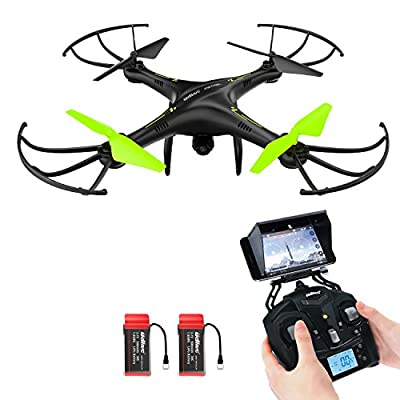 RC Quadcopter, Potensic U42WH UDIRC RTF Drone UFO with Newest Altitude Hold Fuction&HD WiFi Camera from Potensic