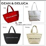DEAN&DELUCA ディーン&デルーカ トートバック Lサイズ オリジナルECOバッグ【エコバッグ】【JELLY BLENDA プチプラ】エコトートバッグ (ブラック)