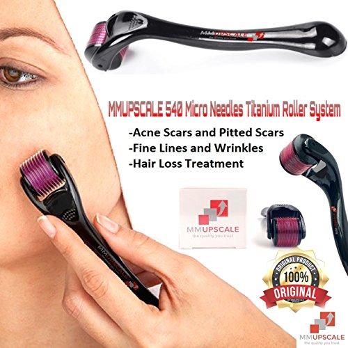 Titanium Micro Needles Derma Roller System