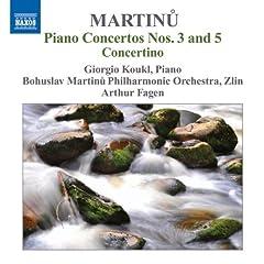 Piano Concertos Nos 3 & 5 Concertino