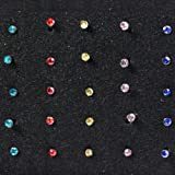 Best-Surgical-Steel-Nose-Stud-Lot-40-Piece-Set-Colorful