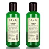 Khadi Neem And Tulsi Face And Body Wash, 210ml (Pack Of 2)