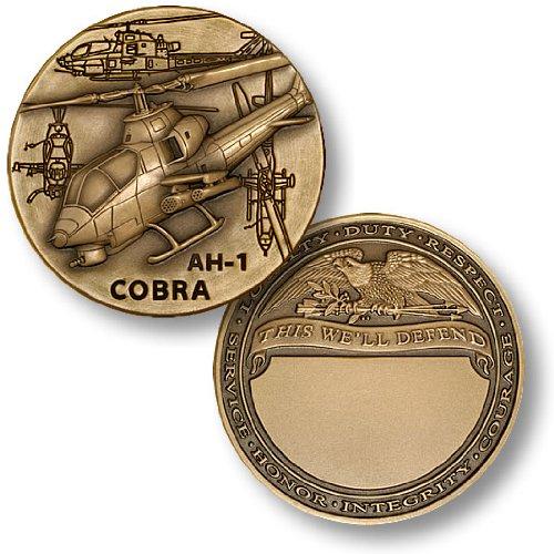 AH-1 Cobra Engravable Challenge Coin