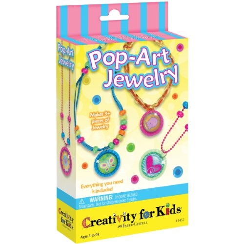 Creativity For Kids CK-1452 Pop Art Jewelry Mini Activity Kit