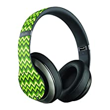 buy Mossy Green Lime Lightning Chevrons Skin/Decal Compatible With Beats Studio Wireless