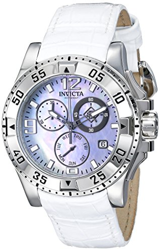 Invicta Women's 16098 Excursion Analog Display Swiss Quartz White Watch