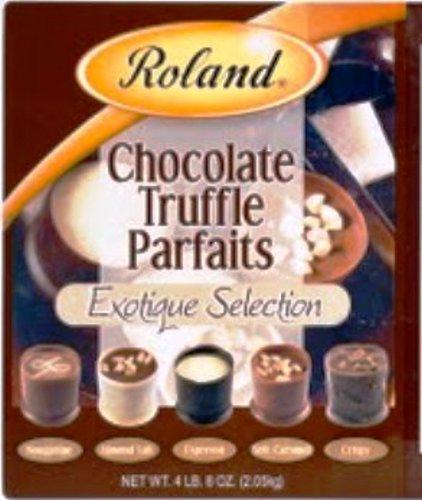Roland Chocolate Parfait Truffle, Exotique, 150-Count
