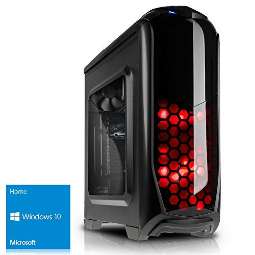 Kiebel Gamer-PC [184551] AMD Achtkerner FX8300 8x 3.3GHz (Turbo bis 4.2GHz) | 16GB DDR3 HyperX | ASUS | 240GB SSD + 1TB | NVIDIA GTX 1060 6GB DDR5 | DVD | Sound | LAN | Windows 10