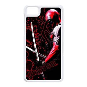 Deadpool Abstract Style Design for Black Berry Z10 Case Cover-Perfect Protector Bumper