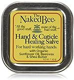 The Naked Bee Hand & Cuticle Healing Salve (1.5 oz/Sunflower Beeswax & Shea Butter)