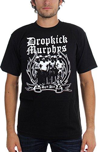 Dropkick Murphys -  T-shirt - Uomo nero XXX-Large