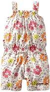 Calvin Klein Baby-girls Infant Flower Print Romper