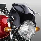 Fly screen Puig Raptor dark smoke for Honda CB Seven Fifty/ 500/ 1000/ 1300, CB-1, CBF 250/ 500/ 600, Hornet 600/ 900, NTV 650 Revere, VTR 250, X4