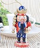くるみ割り人形 10CM ドイツスタイル オシャレ 置物 王冠