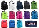 Jansport Backpack All Color Black Navy Grey Blue Purple Any Color!!