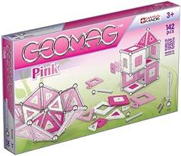 Geomag 343 - Kids Panels Pink, 142 pcs