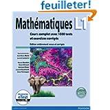 Mathématiques L1 + eText: Cours complet avec 1000 tests et exercices corrigés