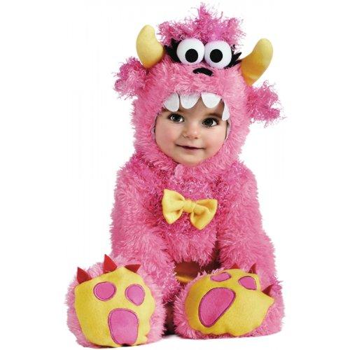 Rubie's Costume Noah's Ark Pinky Winky Monster Romper Costume, Pink, 12-18 Months