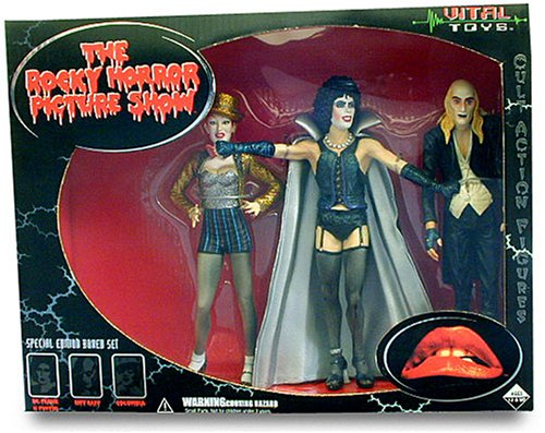 The Rocky Horror Picture Show Limited Edition Box Set Action Figures