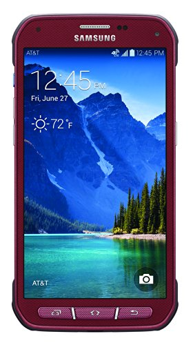 Samsung Galaxy S5 Active, Ruby Red 16GB (AT&T) image