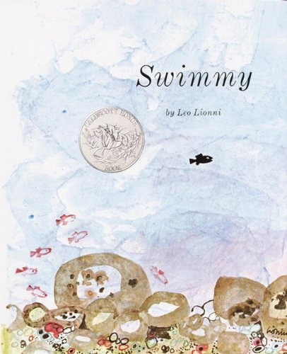 Swimmy by Leo Lionni. Click for round-up of author activities and crafts. #kidlit