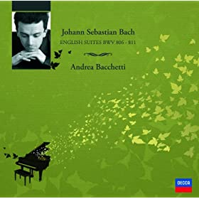Johann Sebastian Bach: English Suite No.1 in A major BWV 806 - 7. Gigue