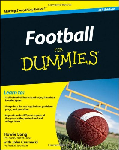 Football For Dummies (For Dummies (Lifestyles Paperback))