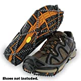 Yaktrax Walker Traction Cleats for Snow and Ice, Black, Small