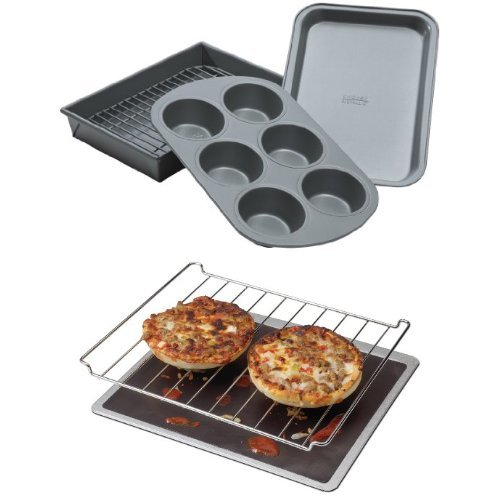 Chicago Metallic Toaster over set and Chef's Planet Liner Bundle