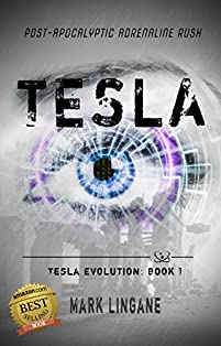Tesla: A Teen Steampunk/cyberpunk Adventure by Mark Lingane ebook deal