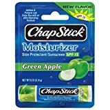 ChapStick Green Apple, 0.15-Ounce (Pack of 6)