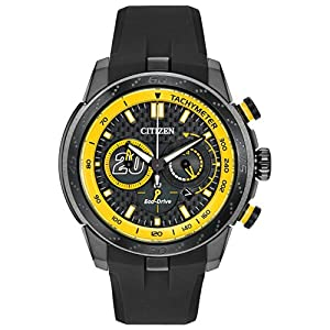 Citizen Men's CA4159-03E Matt Kenseth Ecosphere Limited Edition Analog Display Japanese Quartz Black Watch