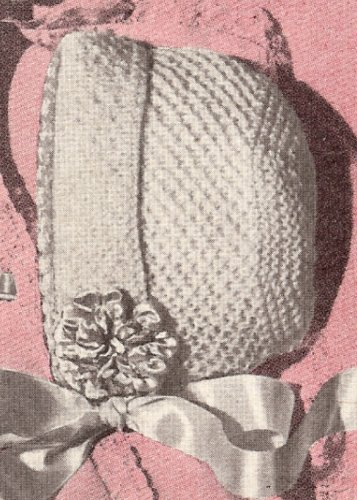 Free Finger Knitting Patterns : BABY BONNET KNITTING PATTERNS