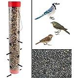 Classic 2-Way Bird Feeder Sunflower Seed Or Thistle Wild Finch Chickadee Siskin