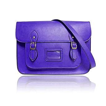 LYDC Vintage Blue Satchel Shoulder Hand Bag ( Large )