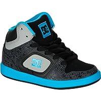 ディーシー DC Union HI SE Skate Shoe - Boys' Black Turk Blue アウトドア キッズ 子供 男の子 ブーツ 靴 シューズ 並行輸入
