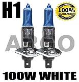 H1 100W XENON SUPER WHITE 448 HID HEADLIGHT BULBS APRILIA RS 125 (GS/MP)