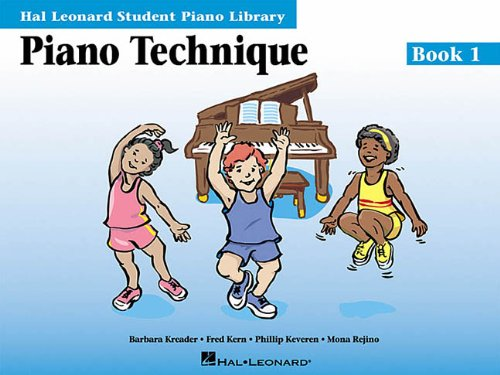 Piano Technique Book 1: Hal Leonard Student Piano Library (Hal Leonard Student Piano Library (Songbooks))