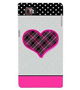 Checks Love Design 3D Hard Polycarbonate Designer Back Case Cover for Lenovo Vibe Z2 Pro K920