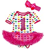 Petitebelle - Body - para bebé niña Rosa hot pink L