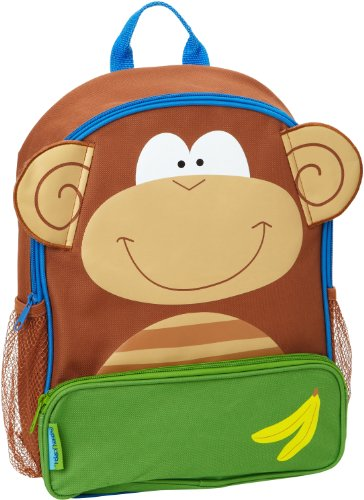 Stephen Joseph Sidekick Backpack Monkey