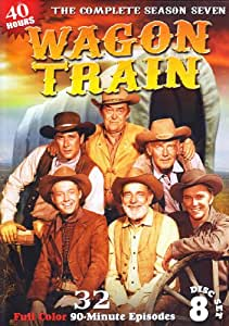 Wagon Train: Season 7 - 32 Episodes - 8 DVD Set!