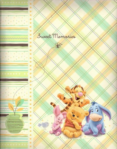 Disney Baby Pooh and Friends - Baby Memory Book / Scrapbook - 1