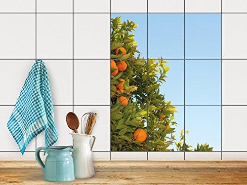 reparation-baignoire-carrelage-sticker-autocollant-art-de-tuiles-mural-design-orange-tree-20x25-cm-9
