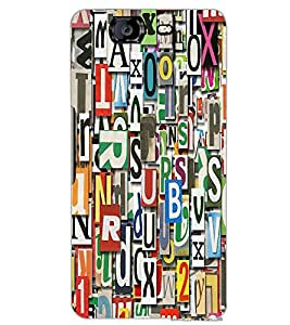 MICROMAX A350 CANVAS KNIGHT CHARACTERS Back Cover by PRINTSWAG