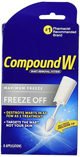 Compound W Freeze Off Wart Remover-8 applications (Freeze Away Wart compare prices)