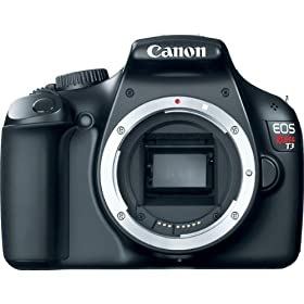 Canon EOS Rebel T3 12.2 MP CMOS Digital SLR Camera and DIGIC 4 Imaging (Body)