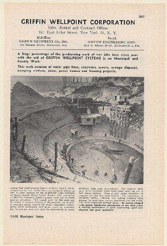 1948-griffin-wellpoint-pumping-station-grand-rapids-mi-daytona-beach-sewer-4-page-print-ad-memorabil