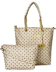 Meow Wings Women's Long Sling Bag In Bag White Handbag - B01HVCZMYS