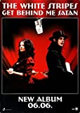 The White Stripes Get Behind Me Satan 2006 - Concert Poster Concertposter